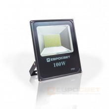 Прожектор 100W 5500Lm 6400K IP65 EVRO LIGHT ES-100-01 SMD