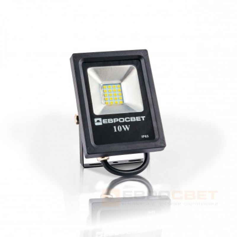 Прожектор EVRO LIGHT EV-10-01  6400K 800Lm SMD