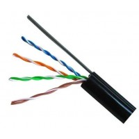 Кабель Cat. 5e UTP cable 4x2x0.51 ССА 305м с проволокой для внешней прокладки