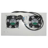 Модуль вентиляторный на 2 вентилятора, термостат