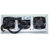 Модуль вентиляторный на 3 вентилятора, термостат